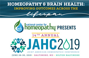 14th ANNUAL JOINT AMERICAN HOMEOPATHIC CONFERENCE (JAHC 2019)